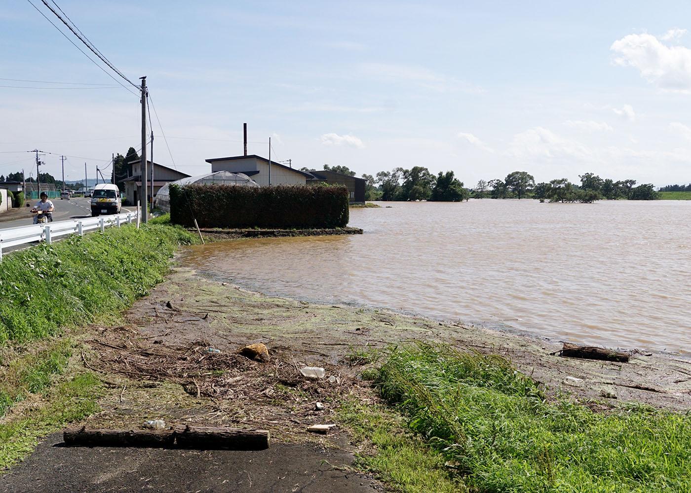 花巻、8月最大観測 北上川流域で冠水も 24日からの大雨|Iwanichi ...