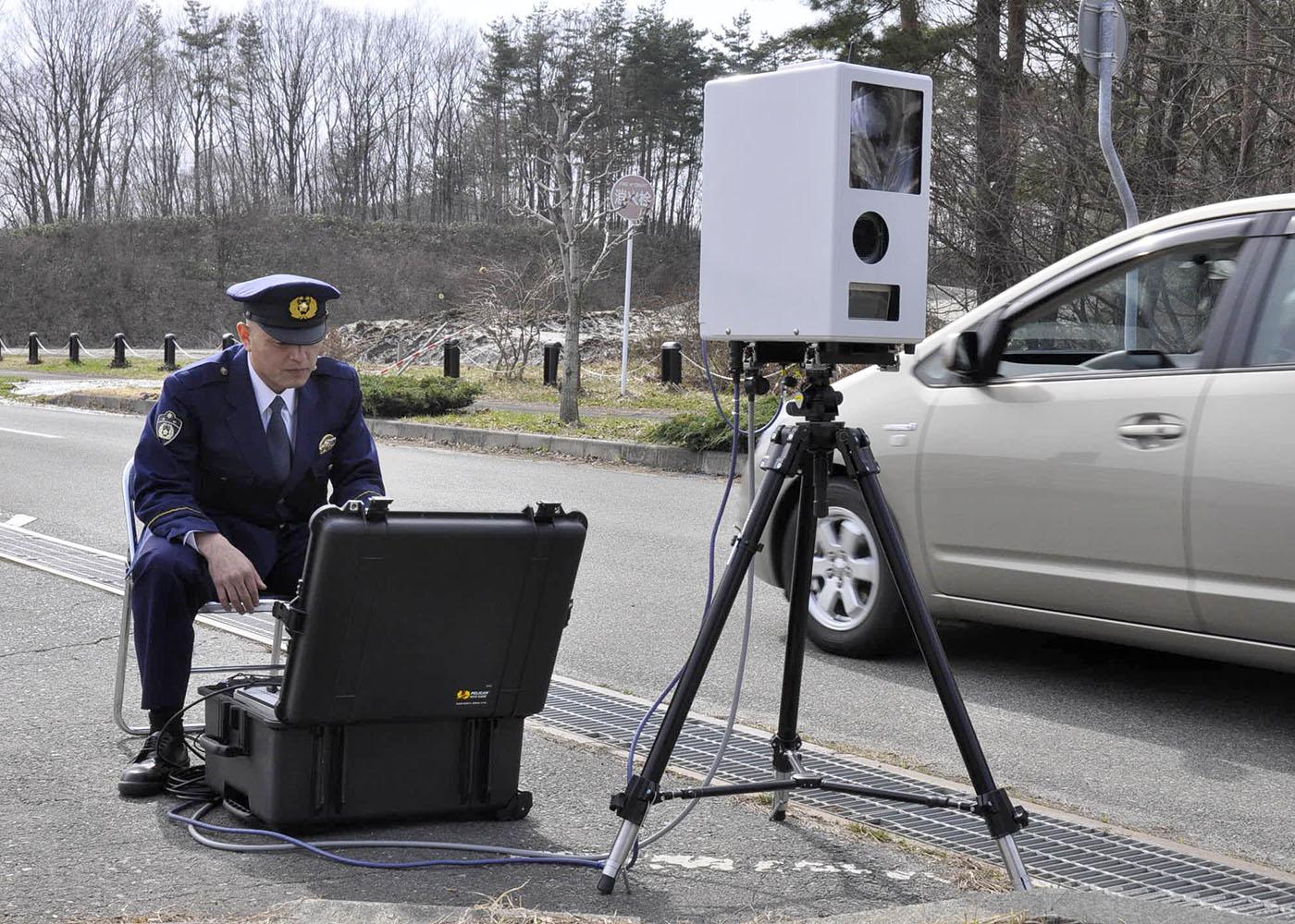 新型速度取締装置を導入 宮古署管内で13日から運用 生活道路の事故抑止 ...