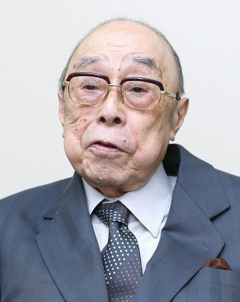 長岡実氏が死去 93歳 東証理事長...