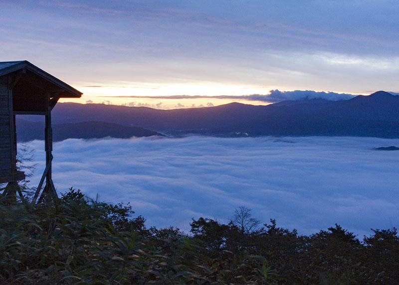 遠野盆地の雲海